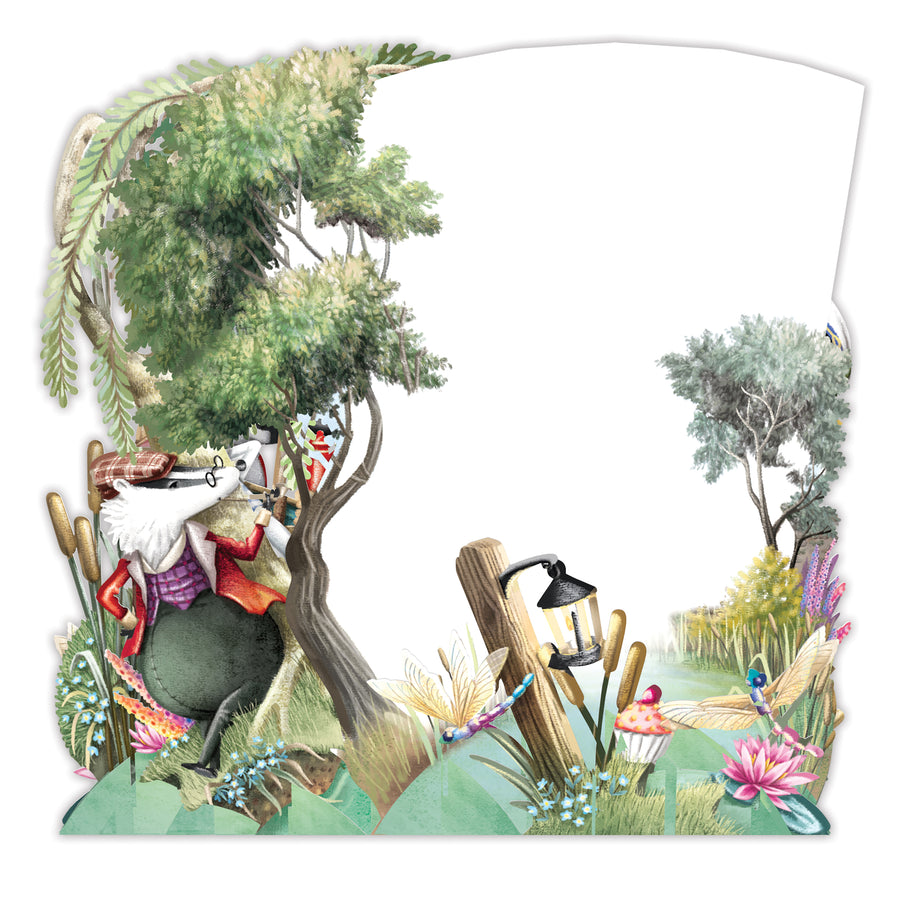 The Riverbank - Top of the World Pop Up Greetings Card
