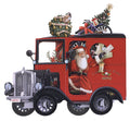 """UK Post Van"" - 3D Pop Up Christmas Card"