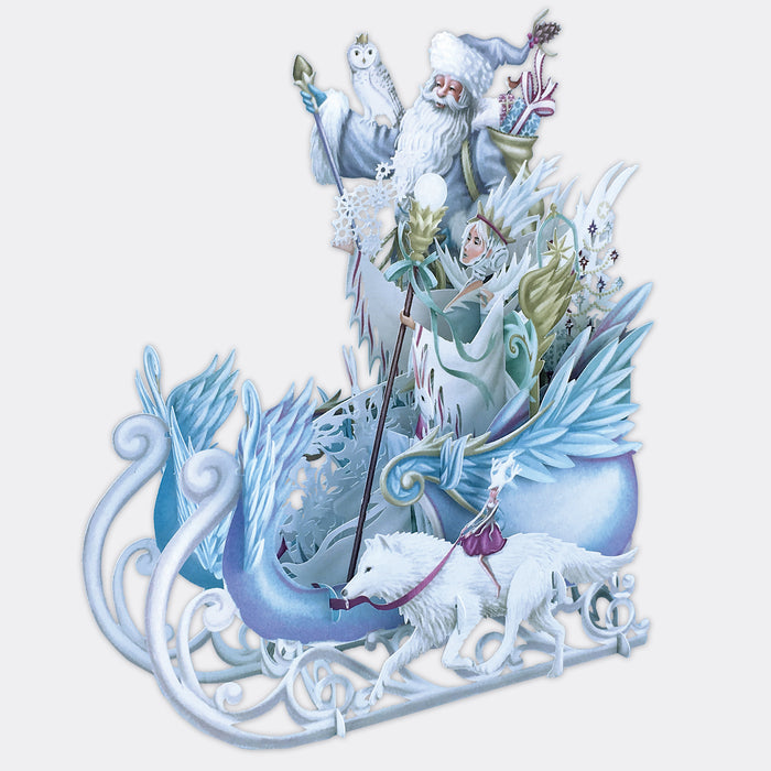 """The Ice Queen"" - 3D Pop Up Christmas Card"