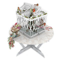 """Robin's Table"" - 3D Pop Up Christmas Card"