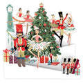 """Nutcracker"" - Zig-Zag Pop Up Christmas Card"