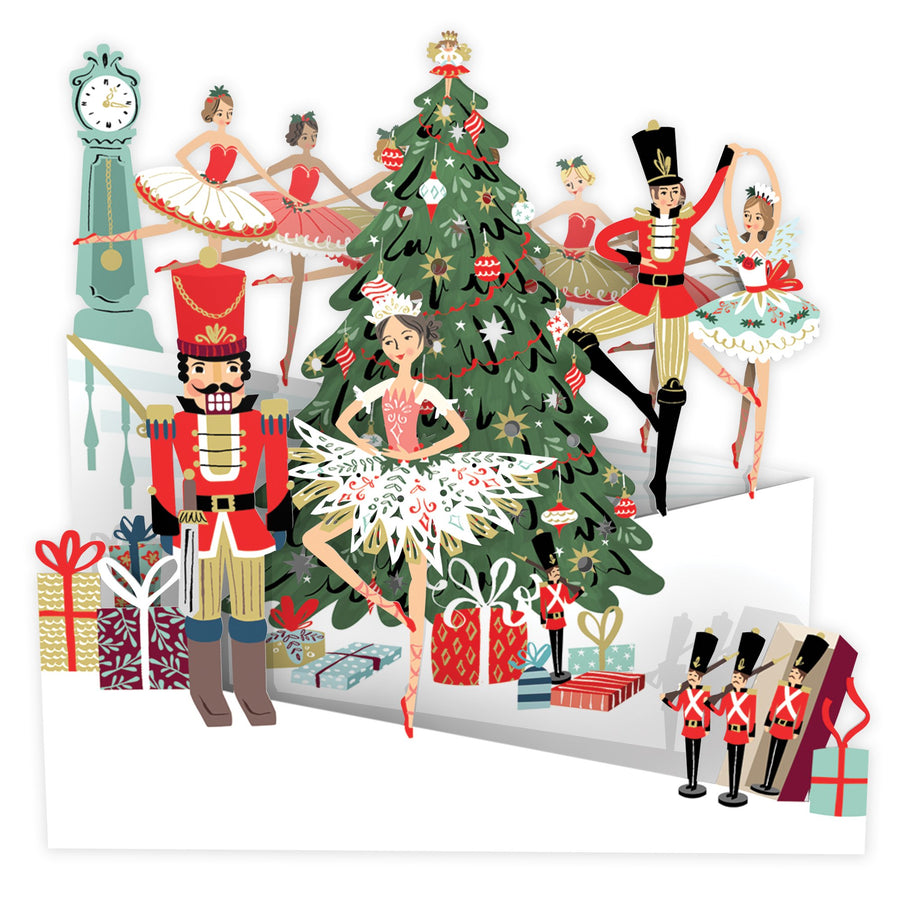 Nutcracker Zig Zag Panorama Card | Me&McQ