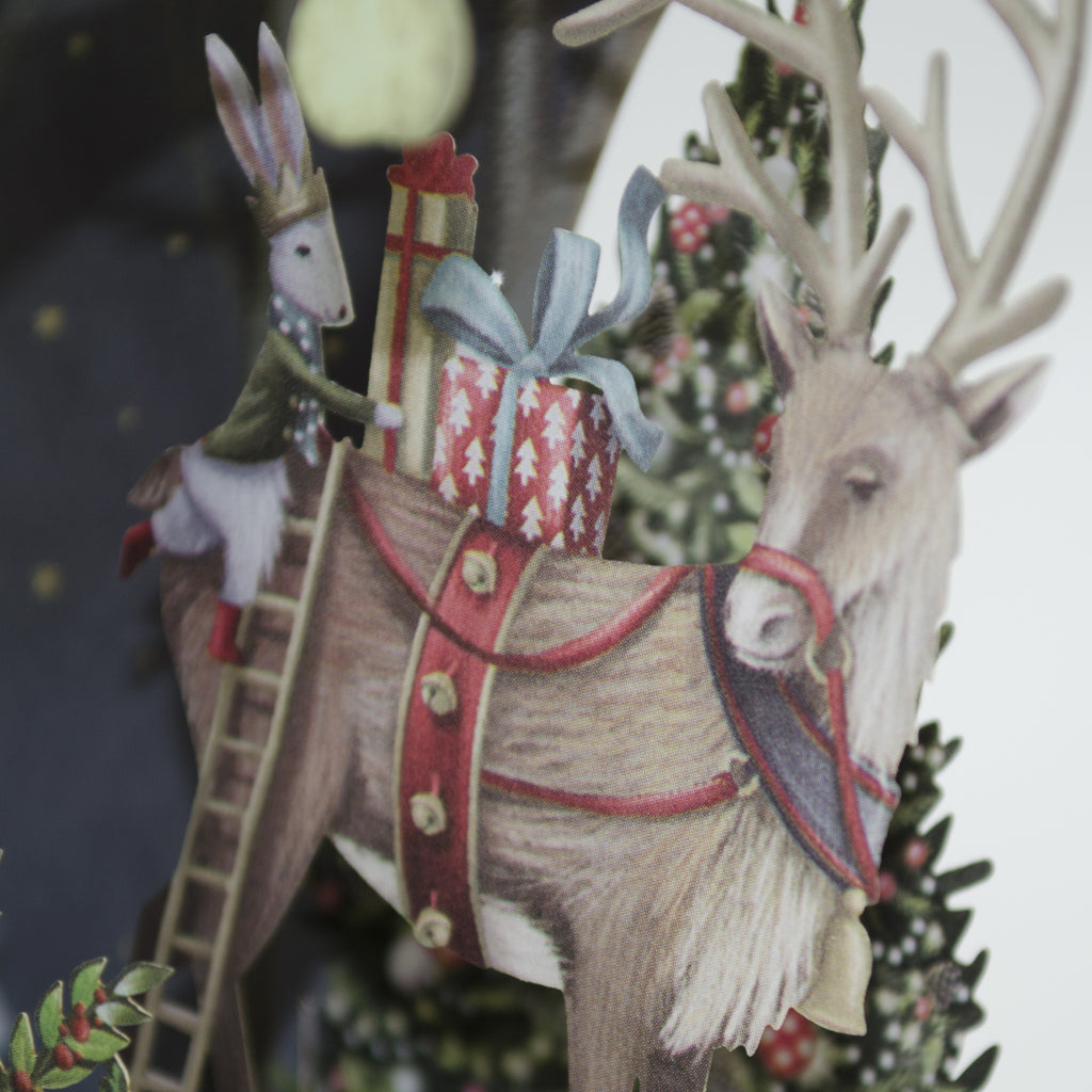 """Down In The Forest"" - Top of the World Christmas Card"