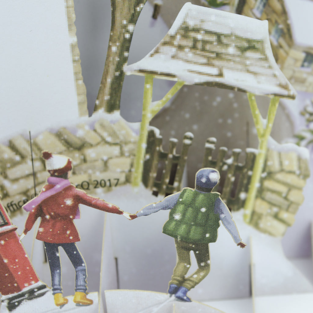 "Christmas at the Old Post Office"" - Top of the World Christmas Card"