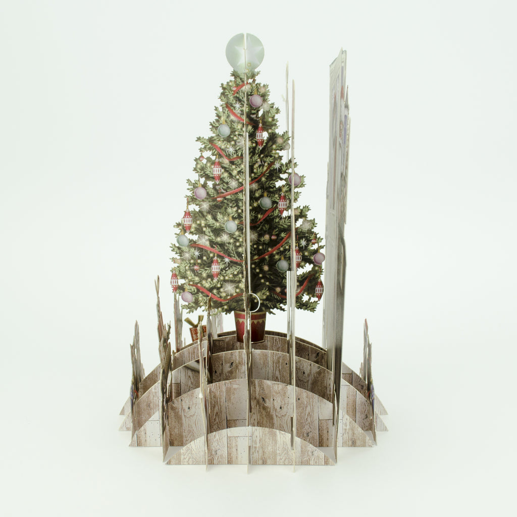 """Hygge Tree"" - Top of the World Christmas Card"