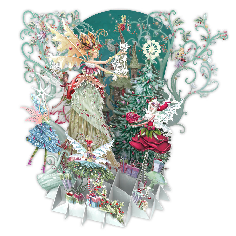 Fairy Queen Pop Up Christmas Card