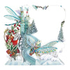 """Christmas Dragonflies"" - Top of the World Christmas Card"