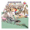 """Noah's Ark"" - Zig Zag Greetings Card"