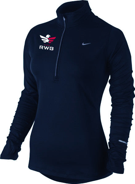 Navy 1/2-Zip Pullover - Womens