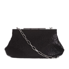 Whiting and Davis' Flat Mesh Clutch