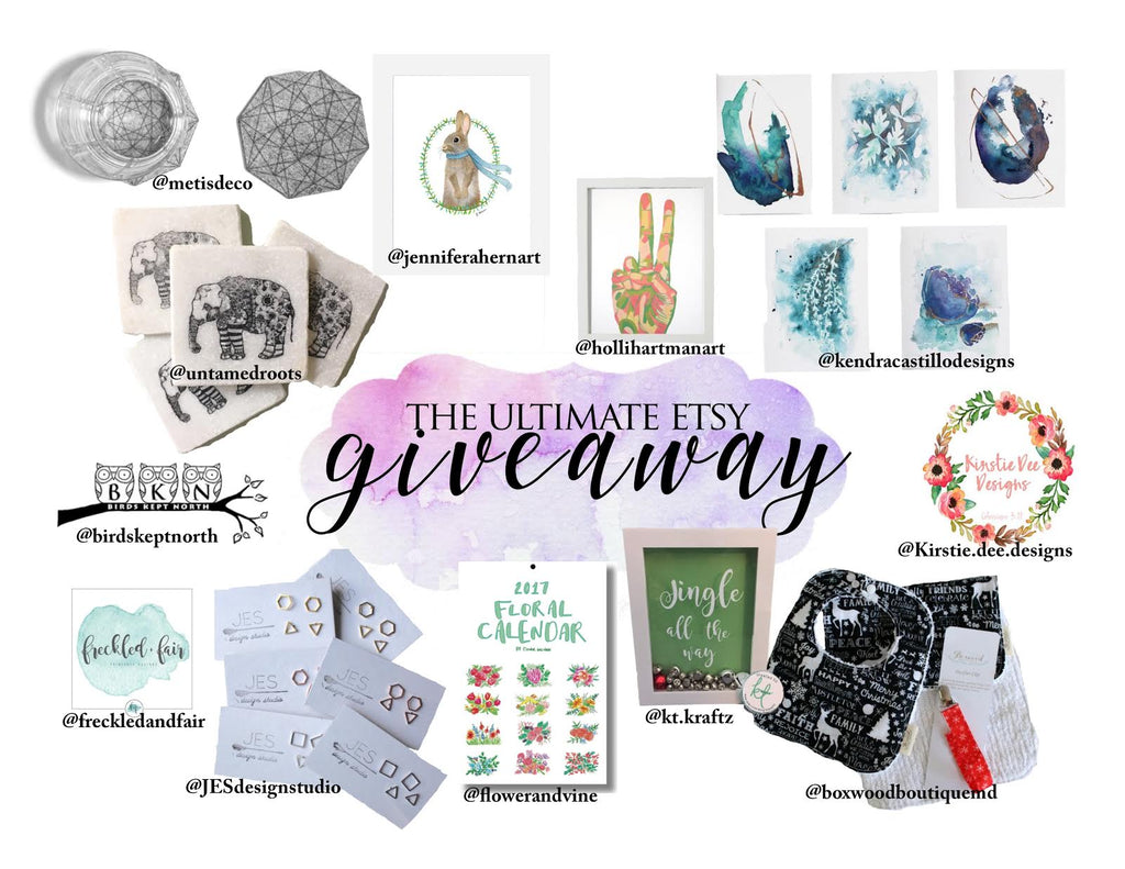 The Ultimate Etsy Giveaway