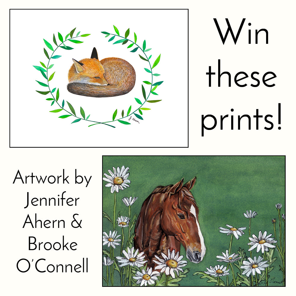 Jennifer Ahern Art Print Giveaway