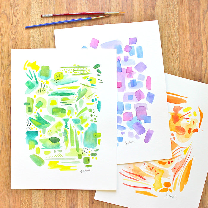 Abstract color studies