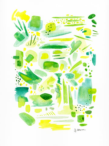 Abstract Study in Green