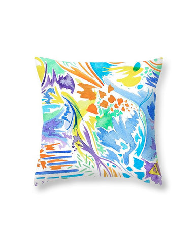 """Mermaid Dream"" Throw Pillow"