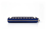 Picture of Be Brilliant Bags Cobalt Blue Dasher Wallet Zipper