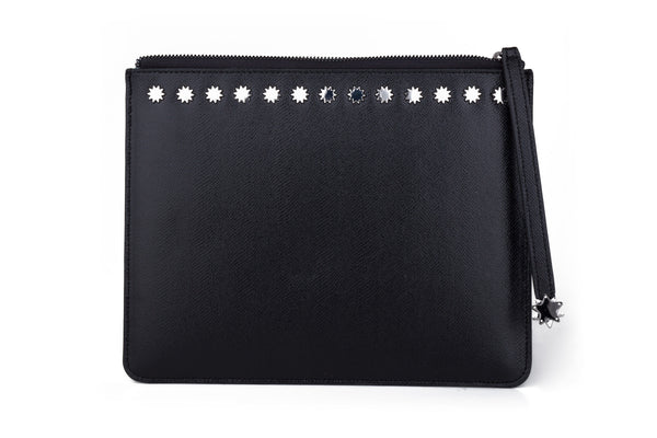 Brilliant Day & Night iPad Clutch Black