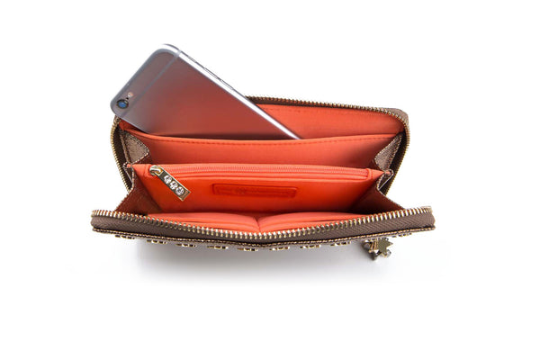 Brilliant Dasher Smartphone Wallet Bronze