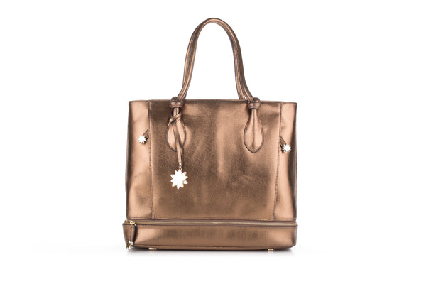 Brilliant On-the-Go Tote Bronze