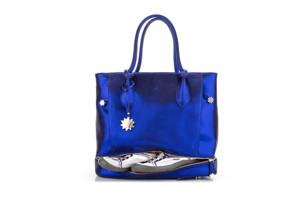 Brilliant On-the-Go Tote & Matching Clutch