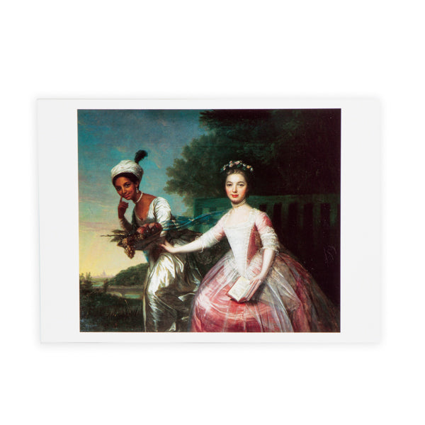 Lady Elizabeth Murray with Dido Belle Print