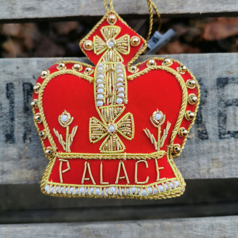 Scone Palace Red Crown Decoration