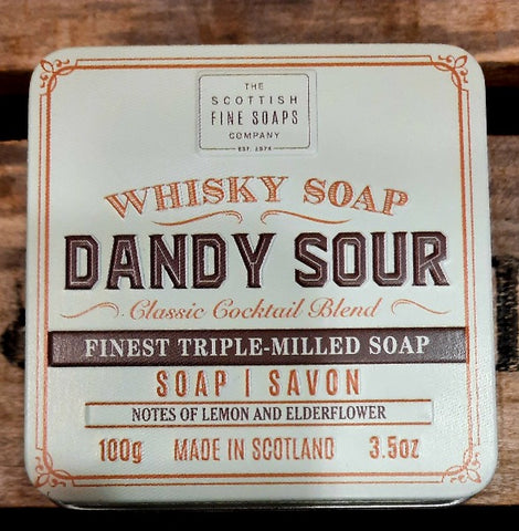Soap in a Tin - Dandy Sour