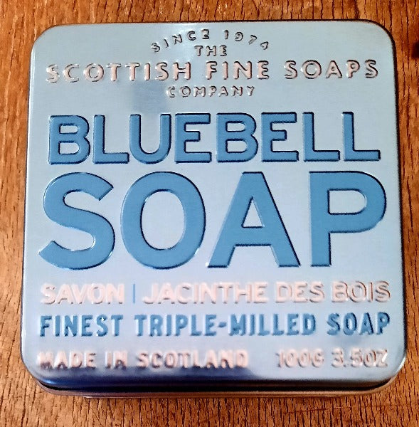 Soap in a Tin - Bluebell