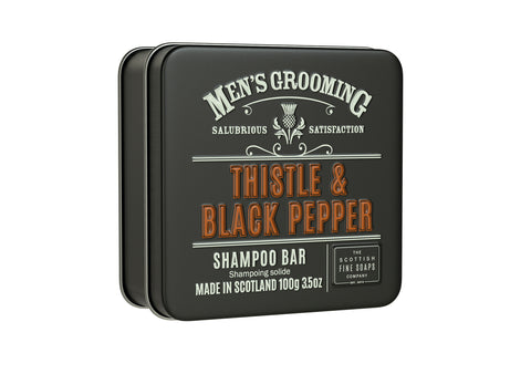 Thistle and Black Pepper Shampoo Bar 100g