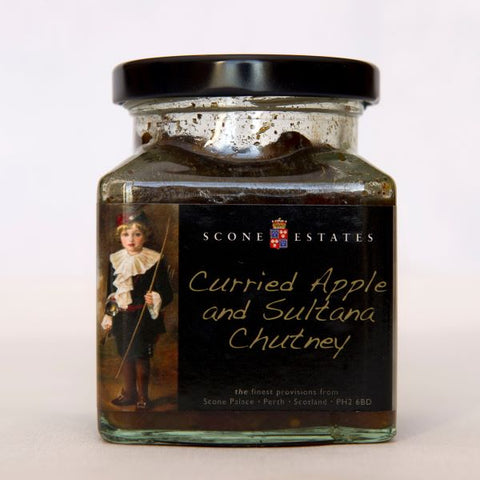 Curried Apple and Sultana Chutney
