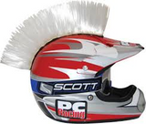 Velcro Motorcycle Dirtbike Peel Stick Helmet Mohawks Click For More Colors