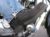 Motorcycle horse rider stirrups boot straps pant clamps