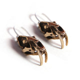 Sabertoothed Cat Earrings