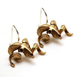 Merino Ram Earrings