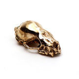 Bronze Jamaican Fruit Bat Animal Skull Pendant by Fire & Bone