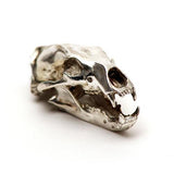 Silver Polar Bear Animal Skull Pendant by Fire & Bone