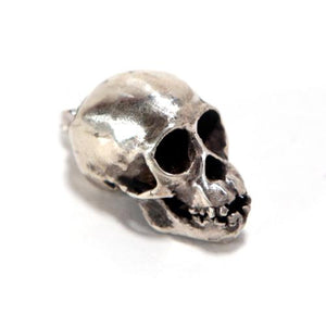 Bronze Chimpanzee Animal Skull Pendant by Fire & Bone