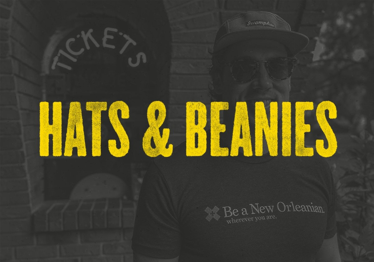 HATS & BEANIES | Dirty Coast Press