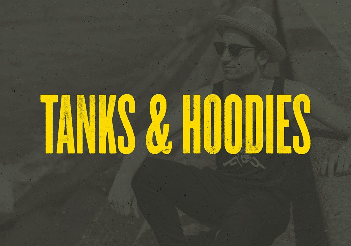Hoodies, Sweatshirts, & Tanks | Dirty Coast Press