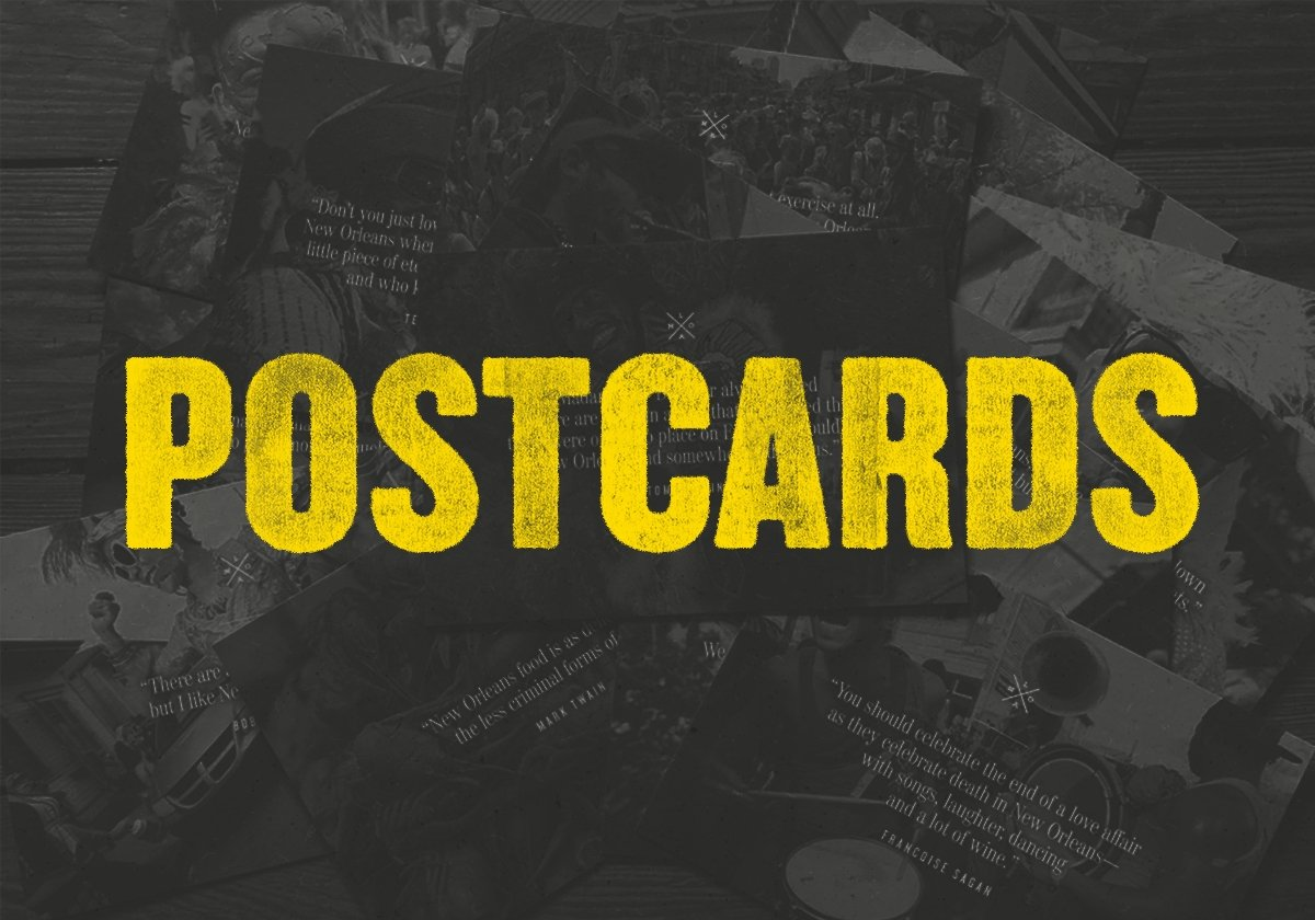 Postcards | Dirty Coast Press