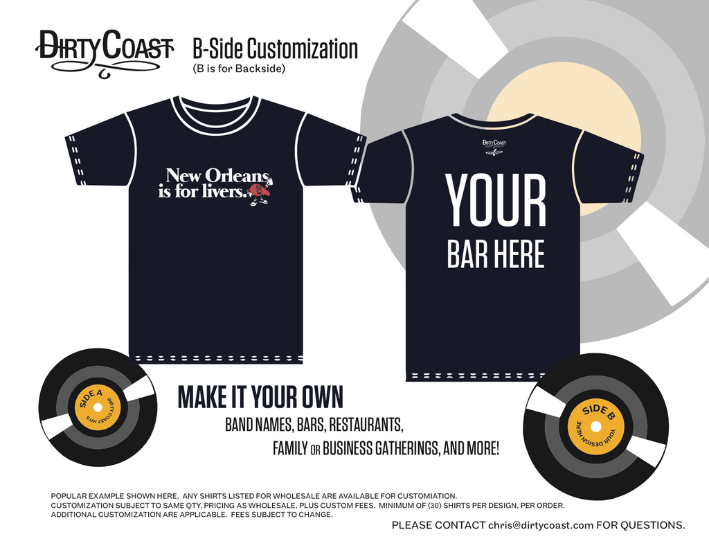 Design your own t-shirt label - Please Contact Chris Dirtycoast Com For Any Inquiries Or Questions