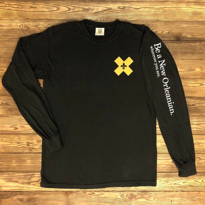 Be A New Orleanian. Long Sleeve - Dirty Coast Press