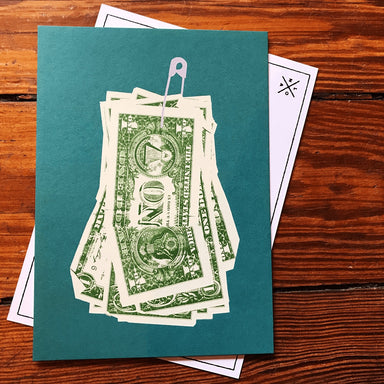 Birthday Money Postcard - Dirty Coast Press