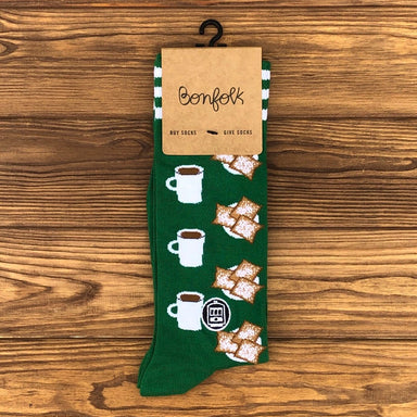 Bonfolk Socks - Beignet - Dirty Coast Press