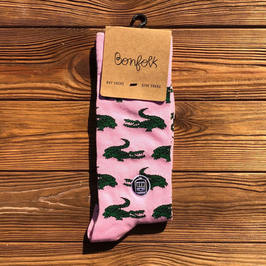 Bonfolk Socks - Gator - Dirty Coast Press