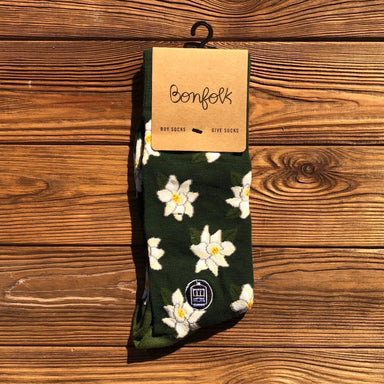 Bonfolk Socks - Magnolia - Dirty Coast Press