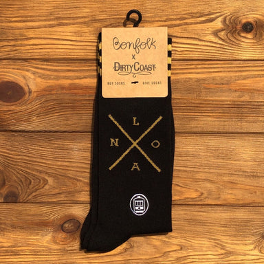 Bonfolk Socks - NOLA X - Dirty Coast Press