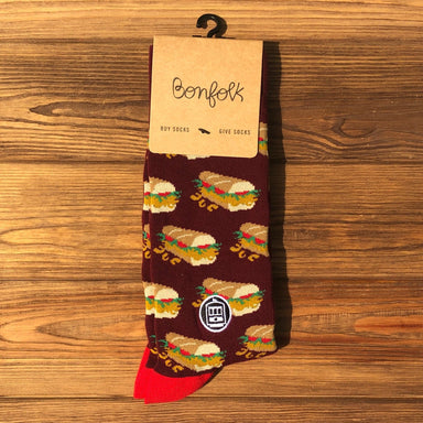 Bonfolk Socks - Po-Boy - Dirty Coast Press