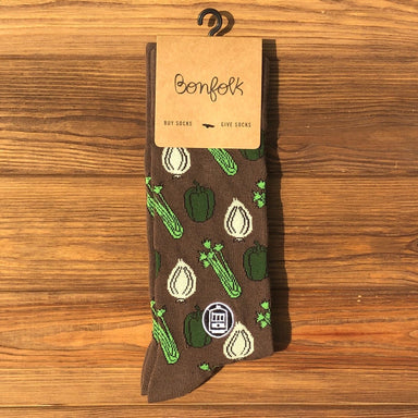 Bonfolk Socks - Trinity - Dirty Coast Press