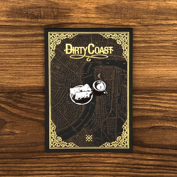 Breakfast Pin - Dirty Coast Press